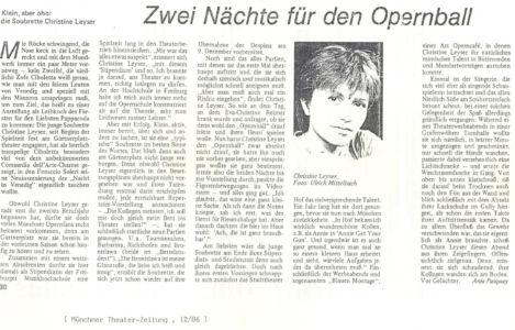 Münchner Theaterzeitung